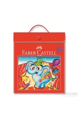 Faber-Castell Plastik Çantalı Tutuculu Pastel Boya 36 Renk (5281125137)