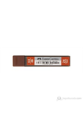 Faber-Castell Super Fine Min 0.5mm 2B 75mm-24 min/tüp (5090127520)