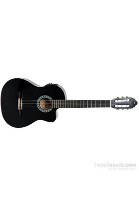 Valencia Cg160Cebk Elektro Klasik Gitar 4/4 Tam Boy Gitar