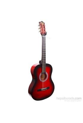 Klasik Gitar Manuel Raymond Kırmızı MRC275RD (Kılıf Hediyeli)