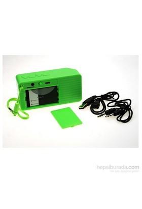 Bewell BS18 FM Bluetooth Hoparlör (Yeşil)