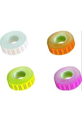 Proteks Renkli Fiyat Etiketleme Makinesi Etiketi (Motex) 800'lü 10 Adet