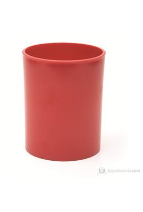 Mas 495 Kristal Kalemlik Silindirik (Kırmızı)