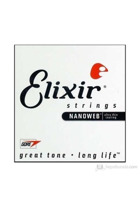 Elixir 022 Tek Akustik Gitar Teli