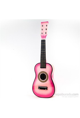 Santana 6 Telli Pembe Klasik Çocuk Gitarı