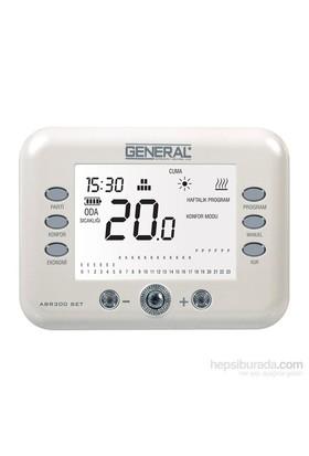 General Abr 300 Set Dijital Kablosuz Oda Termostatı