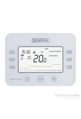 General Abr 320 Set Dijital Kablosuz Oda Termostatı