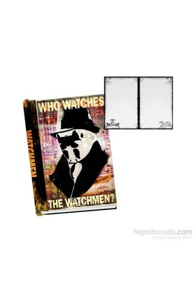 Watchmen Hardcover Journal Rorschach Defter