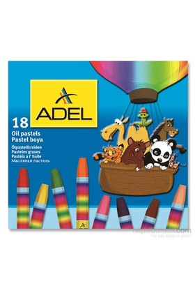 Adel Karton Kutu Pastel Boya 18 Renk (4280857000)
