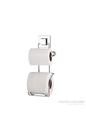 Teknotel Easyfix Yapışkanlı Yedekli Tuvalet Kağıtlık