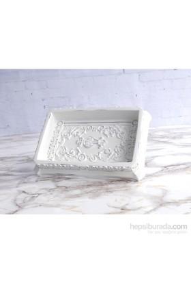 İrya Antic Beyaz Katı Sabunluk