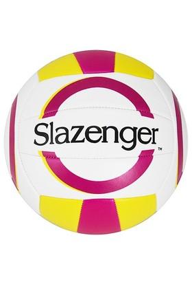 Slazenger 5 No Dikişli Voleybol Topu Sarı Kırmızı