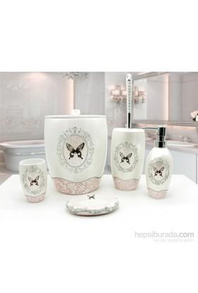 İrya Mira Banyo Aksesuarları Beyaz, Aksesuar Set 5 Parça