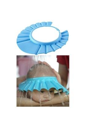 HomeCare Ayarlanabilir Bebek Banyo Şapkası Mavi 091785
