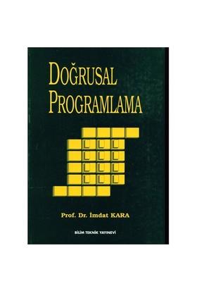 Doğrusal Programlama - İmdat Kara