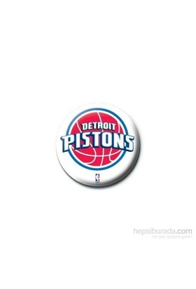 Rozet - NBA Detroit Pistons Logo
