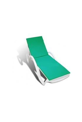 Freeandjoy Şezlong Minderi Yeşil