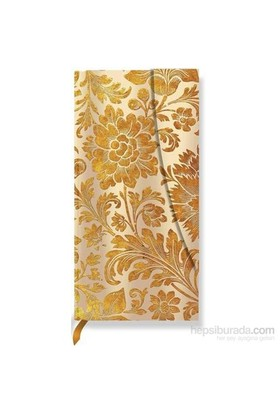 Paperblanks Honey Bloom Slim Çizgili 785-7 Defter
