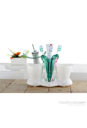 Titiz Trendy İkili Diş Fırçalık