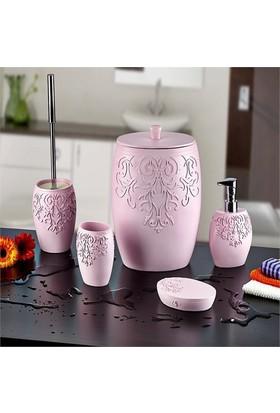 Noble Life 5 Parça Banyo Takımı Royal Candy Pink