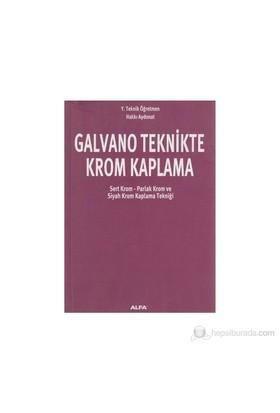 Galvano Teknikte Krom Kaplama - Hakkı Aydonat
