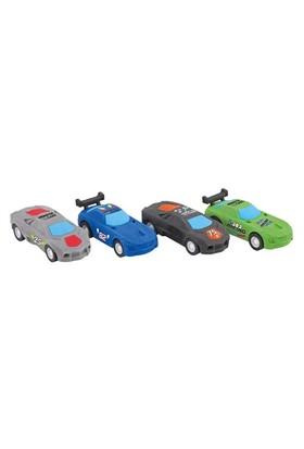 Monster Cars Çek Bırak Araba Silgi