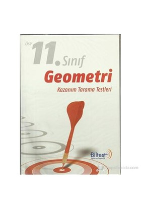 Biltest 11. Sınıf Geometri Kazanım Tarama Testleri
