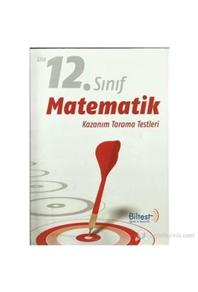 Biltest 12. Sınıf Matematik Kazanım Tarama Testleri