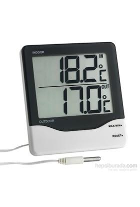 TFA Dijital İç-Dış Termometre Kablolu 30.1011
