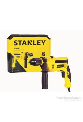 Stanley STDH6513CK 650Watt 13mm Profesyonel Darbeli Matkap