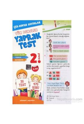 2. Sınıf Tüm Dersler Yaprak Test-Kolektif