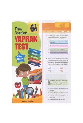 6. Sınıf Tüm Dersler Yaprak Test-Kolektif