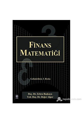 Finans Matematiği-Zehra Başkaya