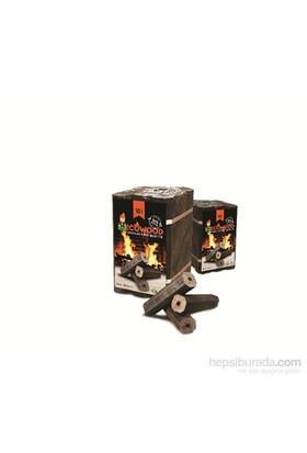 Ecowood Fireplace Briquette Şömine Odunu,10 kg
