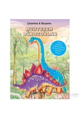 Muhteşem Dinozorlar(Çıkartma&Boyama)-Kolektif