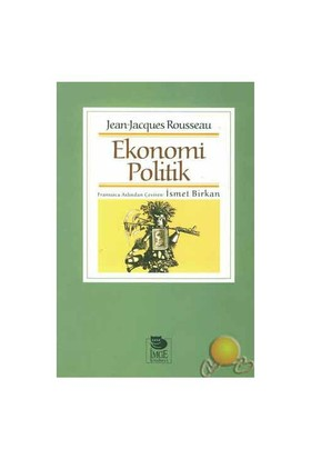 Ekonomi Politik ( Dıscours Sur I'Economıe Politique )-Jean-Jacques Rousseau