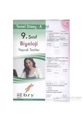 Birey 9. Sınıf Biyoloji Yaprak Testler Temel Düzey A-Kolektif