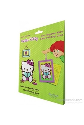 Hello Kitty 1 Kum Boyama Kartları-Kolektif