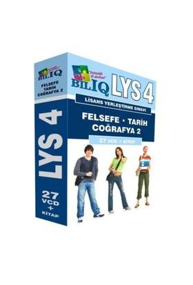 BİL IQ LYS 4 Felsefe,Tarih,Coğrafya 2 Hazırlık Seti 27 VCD+Kitap