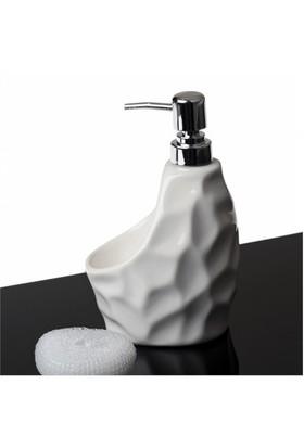 Sarsam 079B Seramik Sıvı Sabunluk