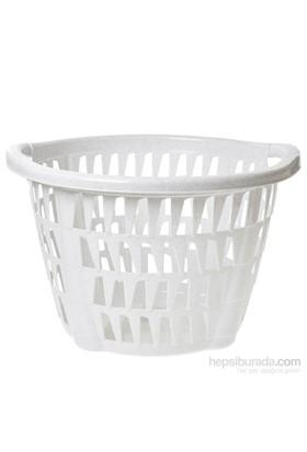 Hobby Life Favori Plastik Şeffaf Yuvarlak Sele (30 Lt) - Beyaz