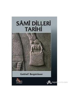 Sami Dilleri Tarihi ( Elsine-İ Sâmîyye Tarihi )-Gotthelf Bergstrasser