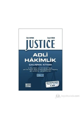 Justice - Adli Hakimlik Çalışma Kitabı (2 Cilt) - İsmail Ercan