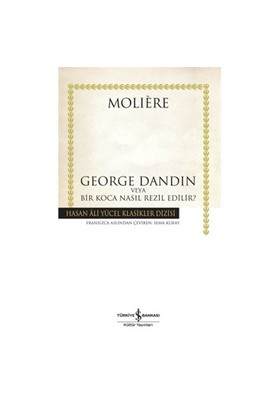 George Dandin – Karton Kapak - Jean-Baptiste Poquelin