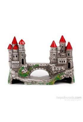 Akvaryum Dekor Köprülü Şato
