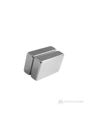 Neodyum Mıknatıs Blok 40X25x10 Mm (Tekli Paket)