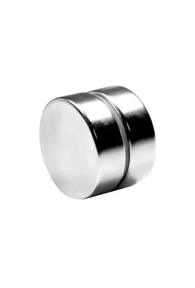 Neodyum Mıknatıs Silindir D30x10 mm (Tekli Paket)