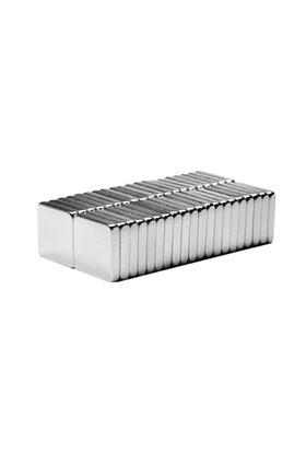 Neodyum Mıknatıs Blok 10x10x2 mm (40'lı Paket)