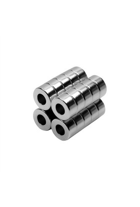 Neodyum Mıknatıs Halka D8xd4x4 mm (30`lu Paket)