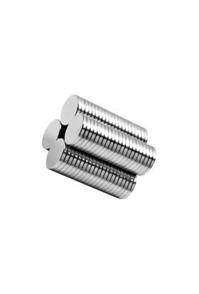 Neodyum Mıknatıs Silindir D8x1 mm (100`lü Paket)